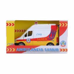 Ambulancia del SAMUR. PLAYJOCS 73694