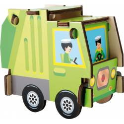 Garbage truck. LEGLER 5876