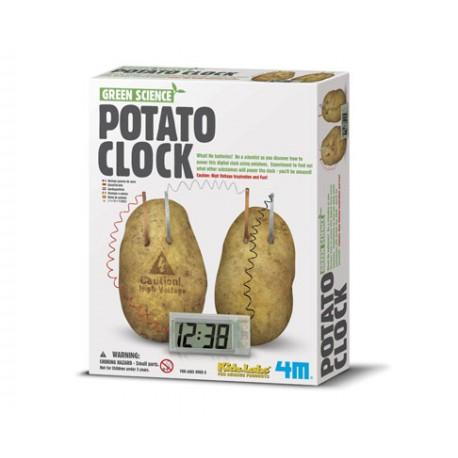 Potato clock. 4M 00-03275