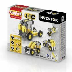 4 industrial models in 1. ENGINO 0434
