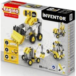 8 industrial models in 1. ENGINO 0834