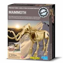 Mammoth Skeleton. 4M 00-03236