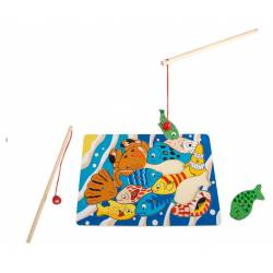 "Jigsaw Puzzle ""Fishing"". LEGLER 8185"