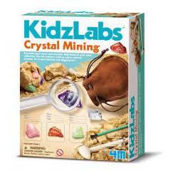 Crystal mining. 4M 00-03252