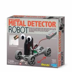 Metal detector robot. 4M 03297
