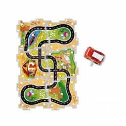 Car and puzzle. JEUX 9643