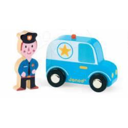 Police car. JANOD 08564