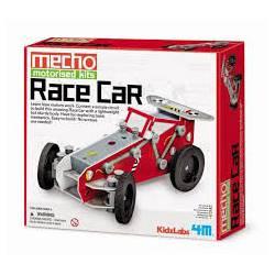Motorised race car. 4M 00-03404