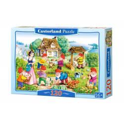 Snow White and the Seven Dwarfs. CASTORLAND PUZZLE B-12749-1