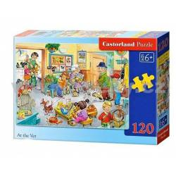 At the vet. CASTORLAND PUZZLE B-13104-1