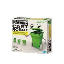 Rubbish cart robot. 4M 00-03371