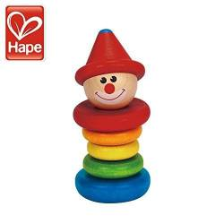 Happy clown rattle. HAPE E0010