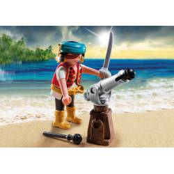 Pirate with cannon. PLAYMOBIL 5378