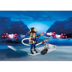 Fireman with hose. PLAYMOBIL 4795