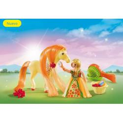 Fantasy horse carry case. PLAYMOBIL 5656