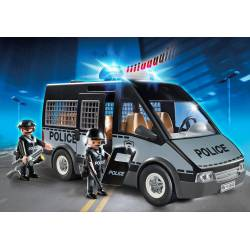 Police van with light and sound. PLAYMOBIL 6043