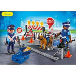 Police Roadblock. PLAYMOBIL 6924
