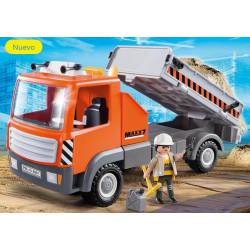 Flatbed workman's truck. PLAYMOBIL 6861