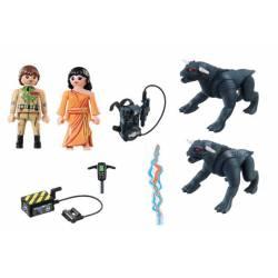Venkman and Terror Dogs. PLAYMOBIL 9223