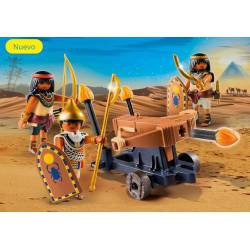 Egyptian Troop with Ballista. PLAYMOBIL 5388
