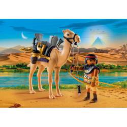 Egyptian with camel. PLAYMOBIL 5389