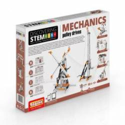Mechanics: Pulley drives. ENGINO STEM03