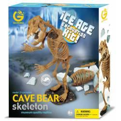Cave bear skeleton. GEOWORLD CL 137K