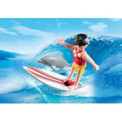 Surfer with Surf Board. PLAYMOBIL 5372