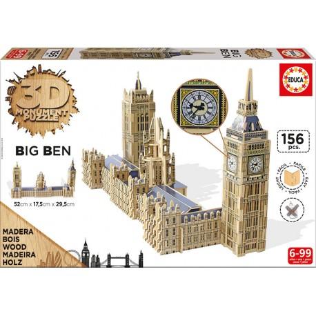 Big Ben 3D. EDUCA 16971