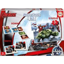 Superpack Avengers. EDUCA 16692