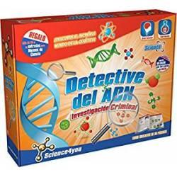 Detective del ADN. Investigación criminal.