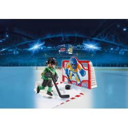 Ice Hockey Shootout. PLAYMOBIL 6192