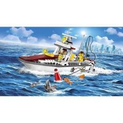 Fishing boat. LEGO 60147