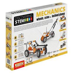 Mechanics: Wheel, axles and inclined planes. ENGINO STEM02