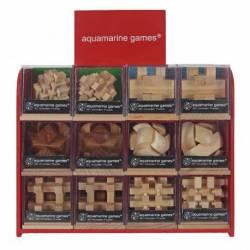 3D wooden puzzle. AQUAMARINE GAMES MT1151