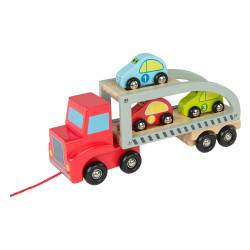 Tow track with cars. COLORBABY 43619