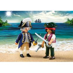 Pirate and Soldier. PLAYMOBIL 6846
