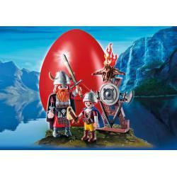 Vikings with Shield. PLAYMOBIL 9209