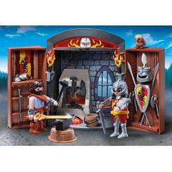 Knights' armory play box. PLAYMOBIL 5637