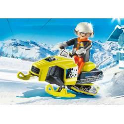 Snowmobile. PLAYMOBIL 9285
