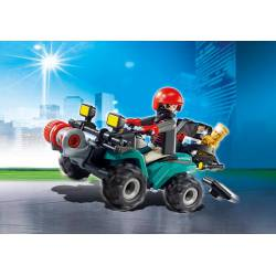 Robber's Quad with Loot. PLAYMOBIL 6879