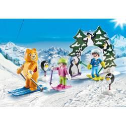 Ski Lesson. PLAYMOBIL 9282