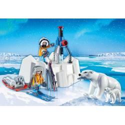 Arctic Explorers with Polar Bears. PLAYMOBIL 9056