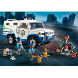 Police Money Transporter. PLAYMOBIL 9371