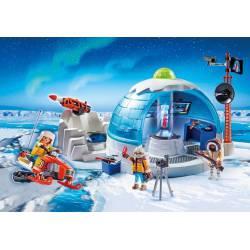 Arctic Expedition Headquarters. PLAYMOBIL 9055