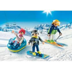 Winter sports trio. PLAYMOBIL 9286