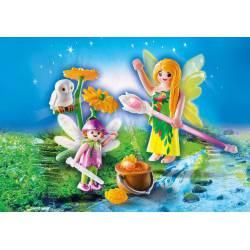 Fairies with Magic Cauldron. PLAYMOBIL 9208