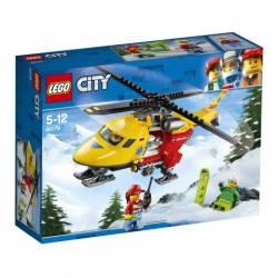 Ambulance Helicopter. LEGO 60179