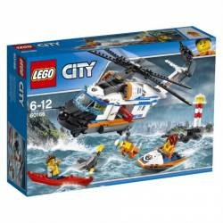Heavy-duty Rescue Helicopter. LEGO 60166