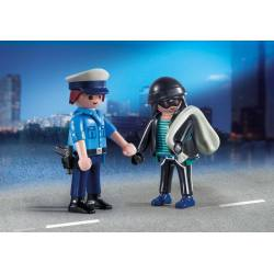 Policeman and Burglar. PLAYMOBIL 9218